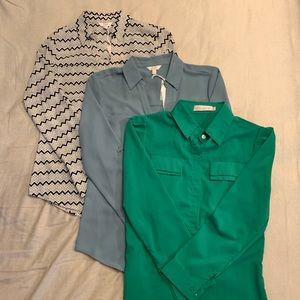 Tops - **BUNDLE DEAL** 3 Button Down Shirts
